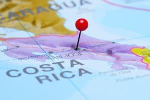 Map Costa Rica